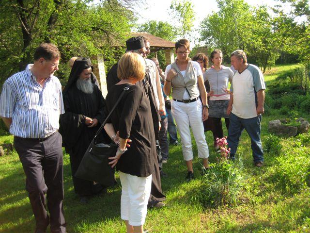 Bezoek aan het klooster St. Marina