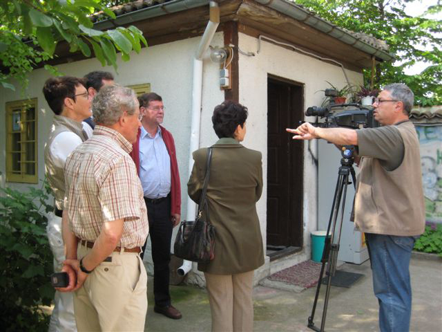 Interview Bulgaarse Televisie