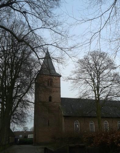 Kerk Dalen, oostkant
