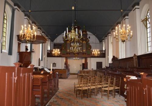 Overzicht kerkgebouw