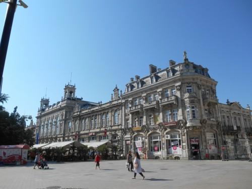 Centrum stad Rousse