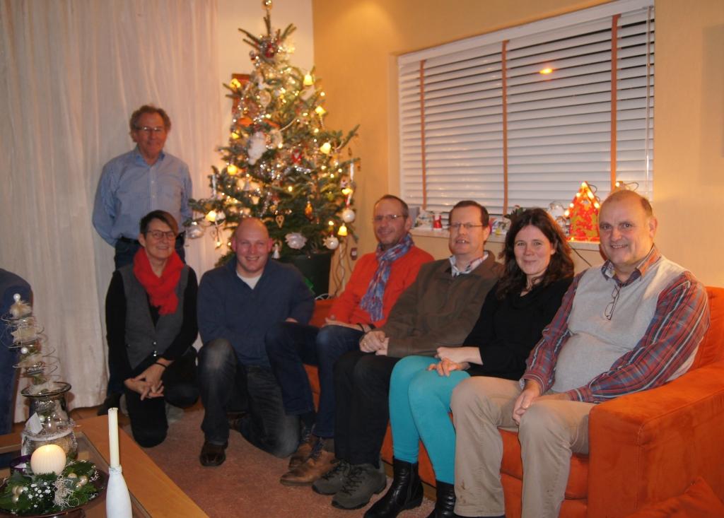 Bulgarije overleg onder de kerstboom van Gerda